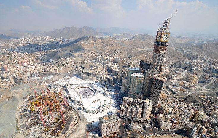 Los edificios más altos del mundo Abraj