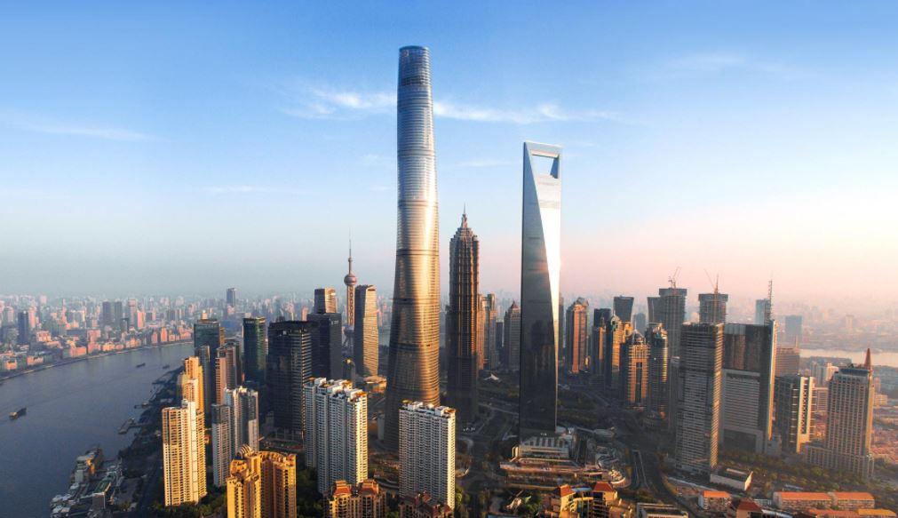 Los edificios más altos del mundo Torre Shanghai