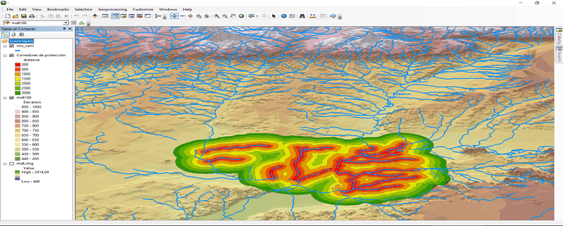 """Presentation of the """"Introduction to hydrogeology and ArcGIS applications"""" course"""