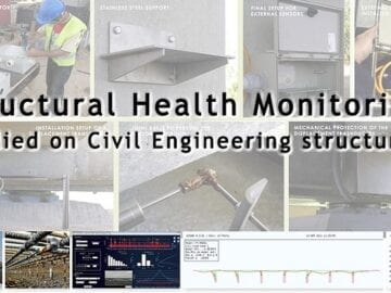Structural Health Monitoring applied to Civil Engineering structures