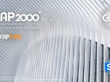 Modelling, analysis and design of concrete and steel structures utilising SAP2000