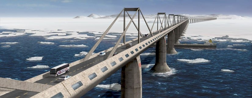 Puente estrecho Bering