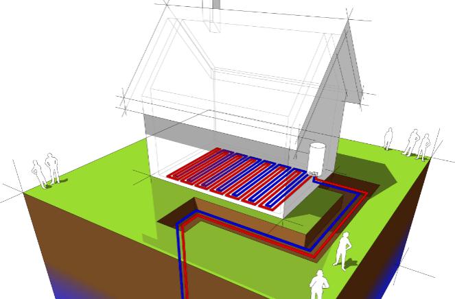 Energía geotérmica: una solución eficiente.