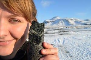 El increíble experimento que convierte el dióxido de carbono en roca.