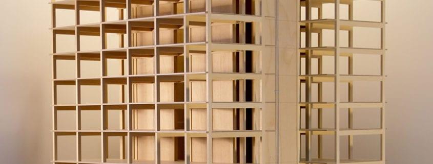 Maqueta del edificio Framework