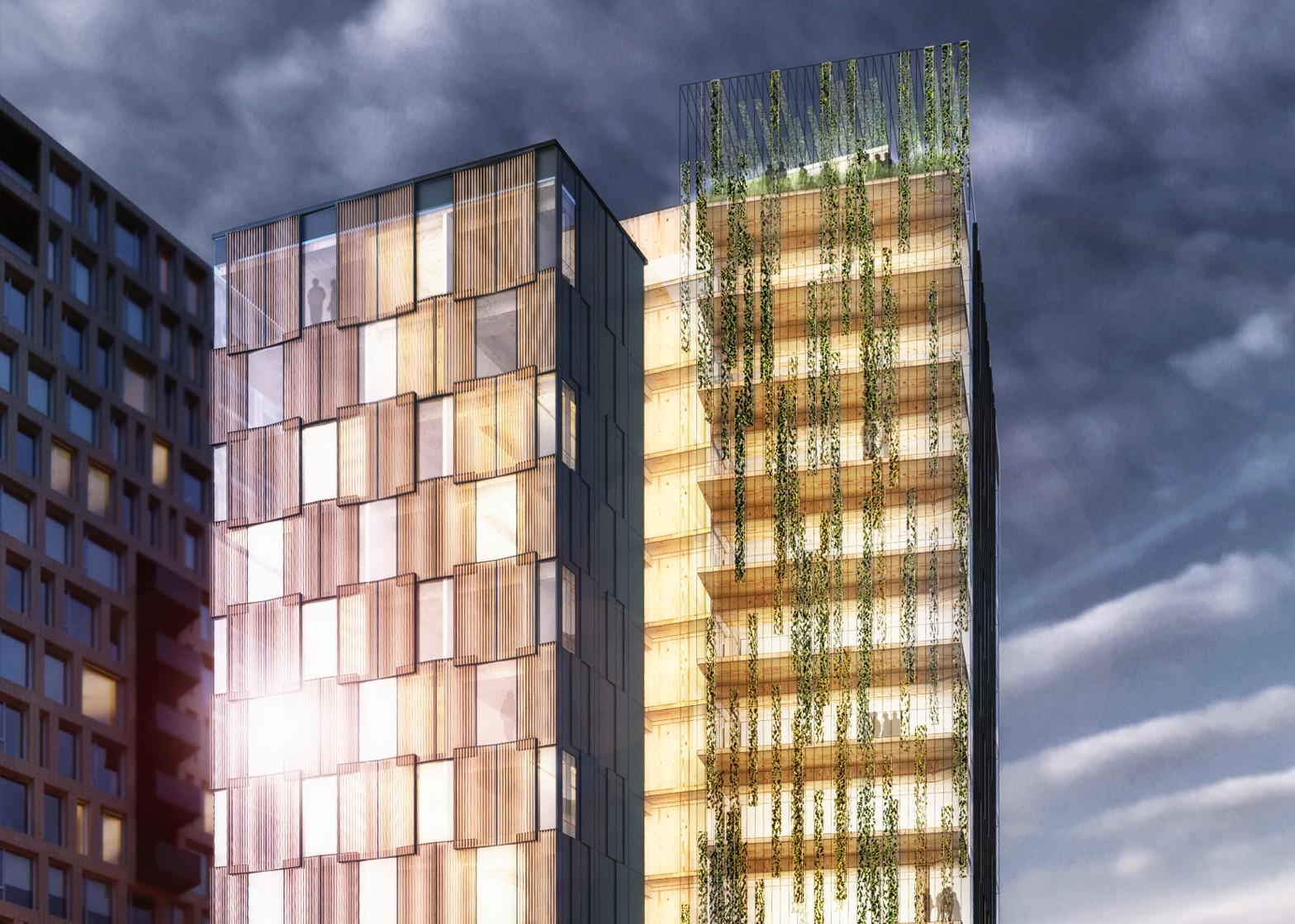 Rascacielos de madera, ¿el futuro de la construcción?