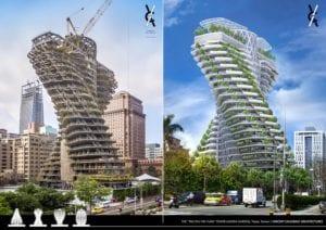 Así será el asombroso rascacielos que luchará contra la contaminación atmosférica