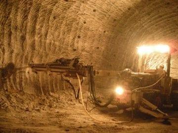 Curso de sostenimiento en minería subterránea