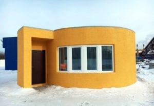Construcción de casa con impresora 3D en 24 horas
