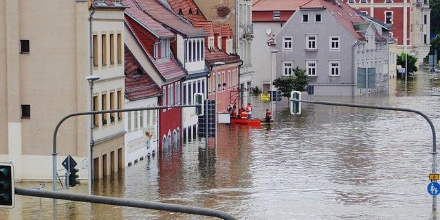 ciudades bajo el agua