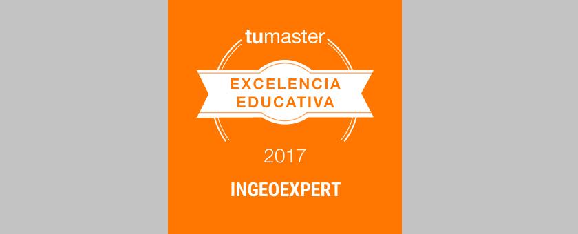 Ingeoexpert recibe el Premio a la Excelencia Educativa 2017