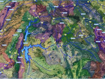 Curso de aplicaciones hidrológicas con QGIS