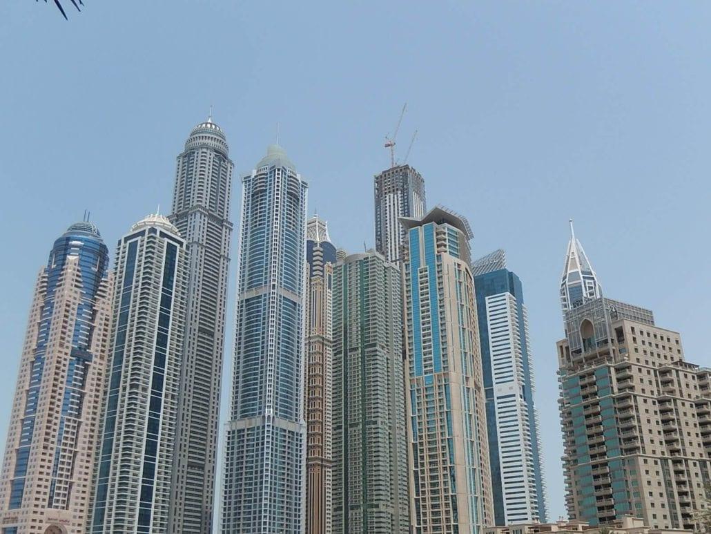 Los edificios más altos del mundo Marina 101