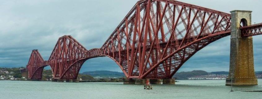 Los puentes más largos del mundo Forth Bridge