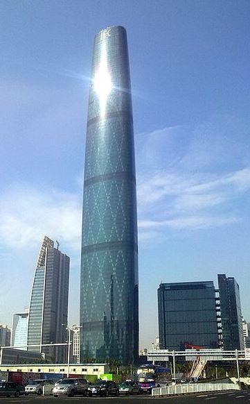 Los edificios más altos del mundo Guangzhou