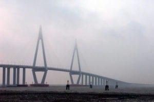 Puente de la bahía de Hangzhou