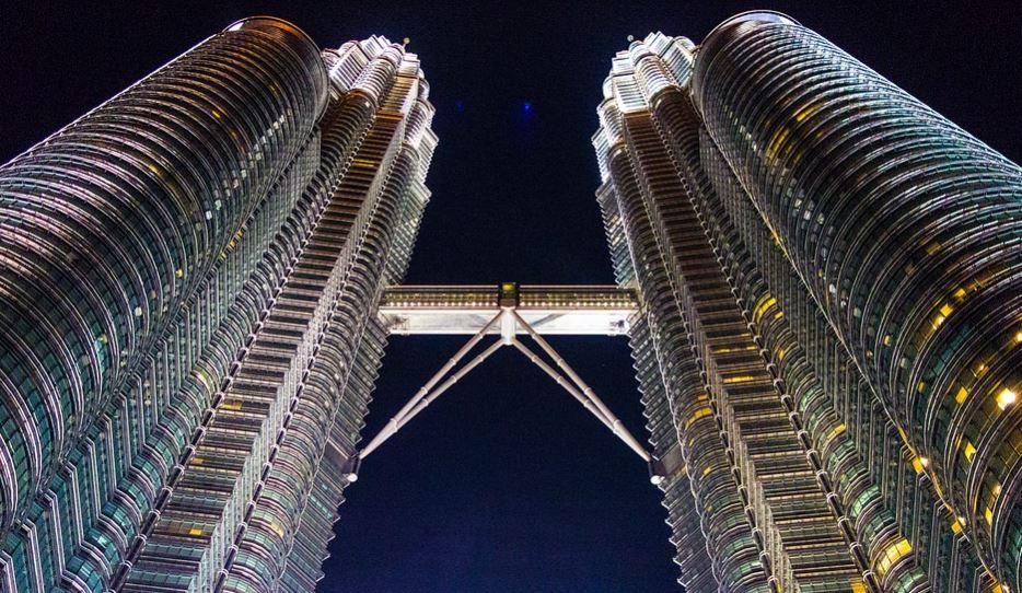Edificios más altos del mundo Torres Petronas