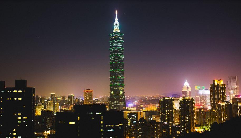 Los edificios más altos del mundo Taipei 101