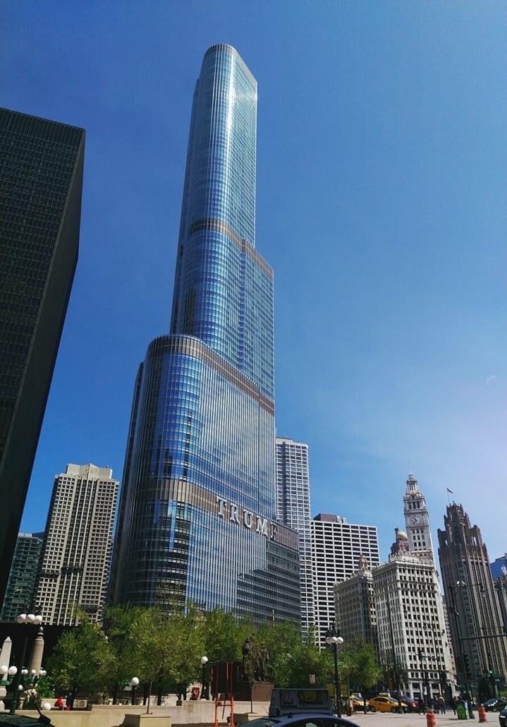 edificio mas alto del mundo trump tower chicago