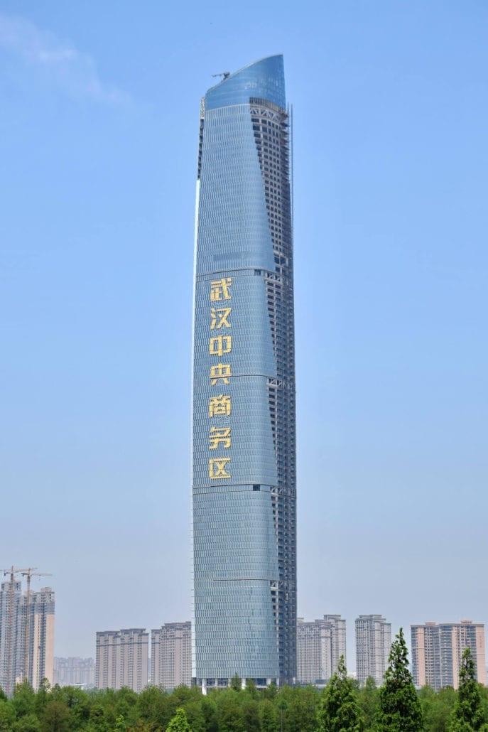 Los edificios más altos del mundo Wuhan Center