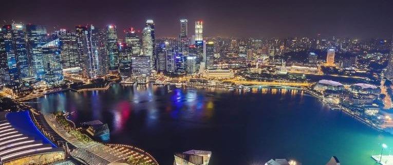 principales puertos marítimos del mundo Singapur
