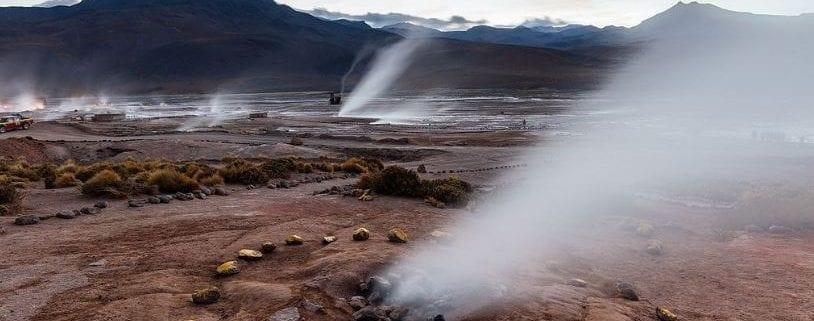 que es la geotermia, geiser
