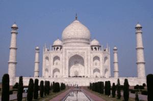 Construcción e historia del Taj Mahal