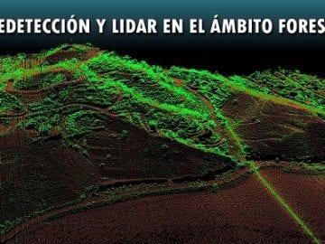 Curso de Teledetección y LIDAR en el ámbito forestal