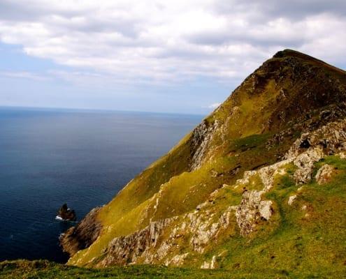 acantilados mas altos de europa croaghaun