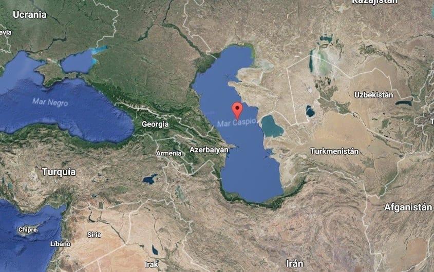 Mar Caspio Lago más grande del mundo