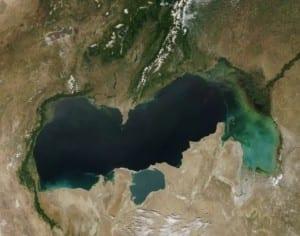 El lago más grande del mundo