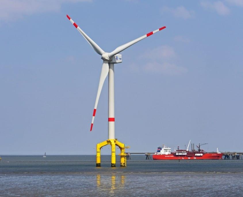 aerogenerador offshore