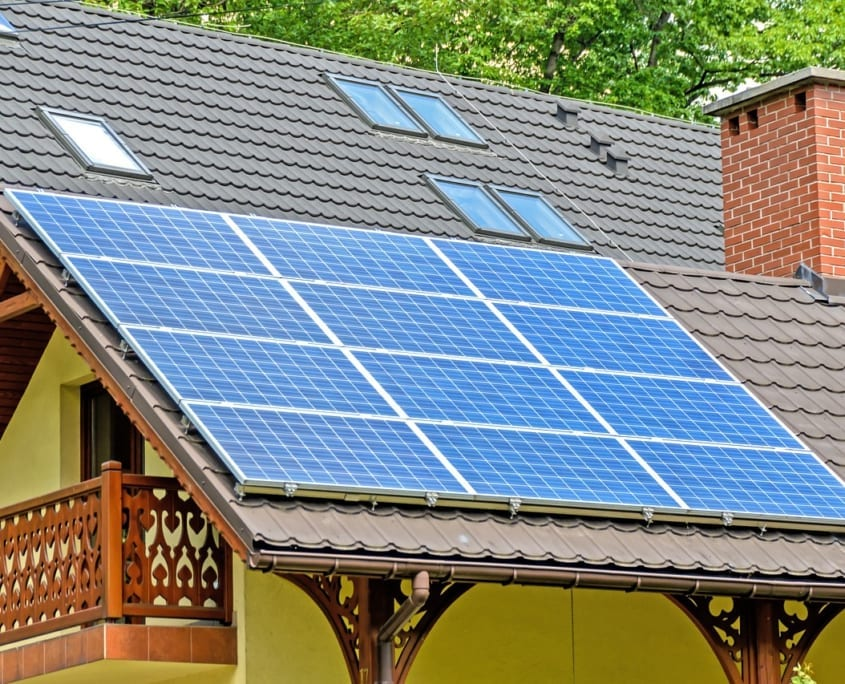 energía solar fotovoltaica hogar
