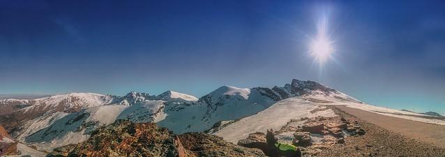Veleta Montañas Más Altas de España