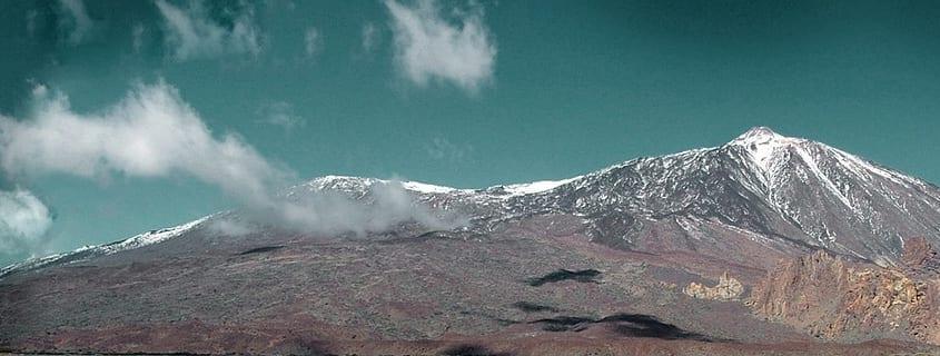 Teide montaña más alta de España