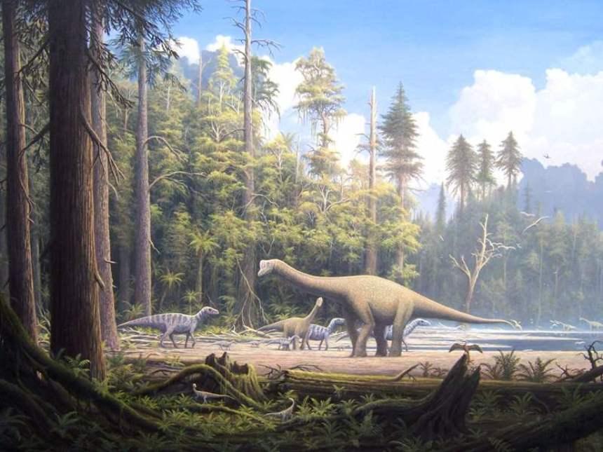Dinosaurios de la Era Mesozoica. ¿Cuáles son?