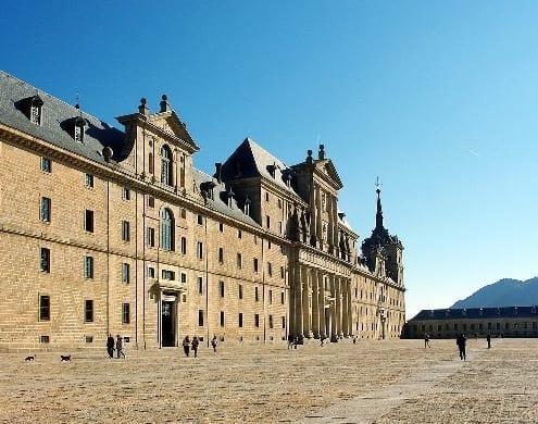 Fachada Monasterio de San Lorenzo del Escorial