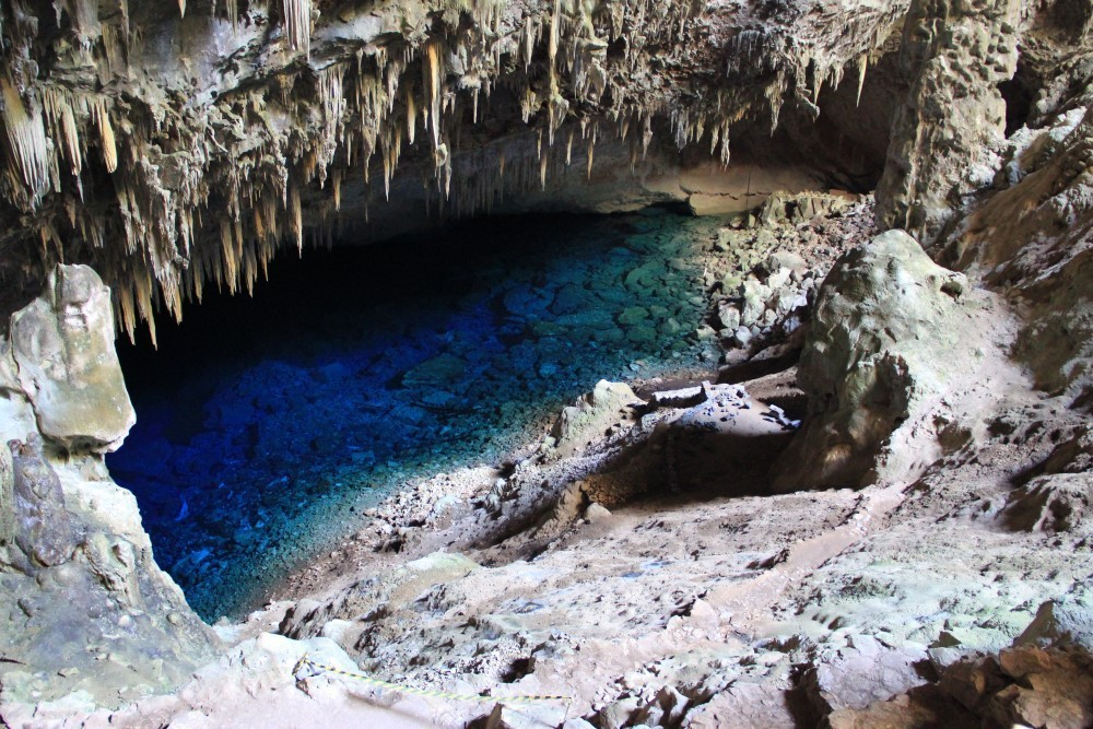 estalactitas en una cueva