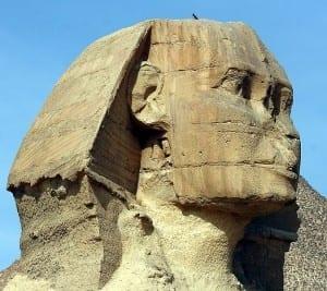 Nariz esfinge de Giza