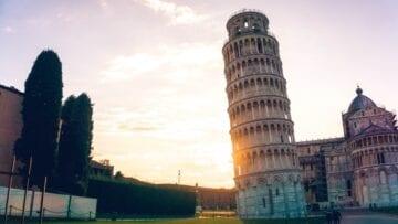 La torre de Pisa: ¿por qué está inclinada?