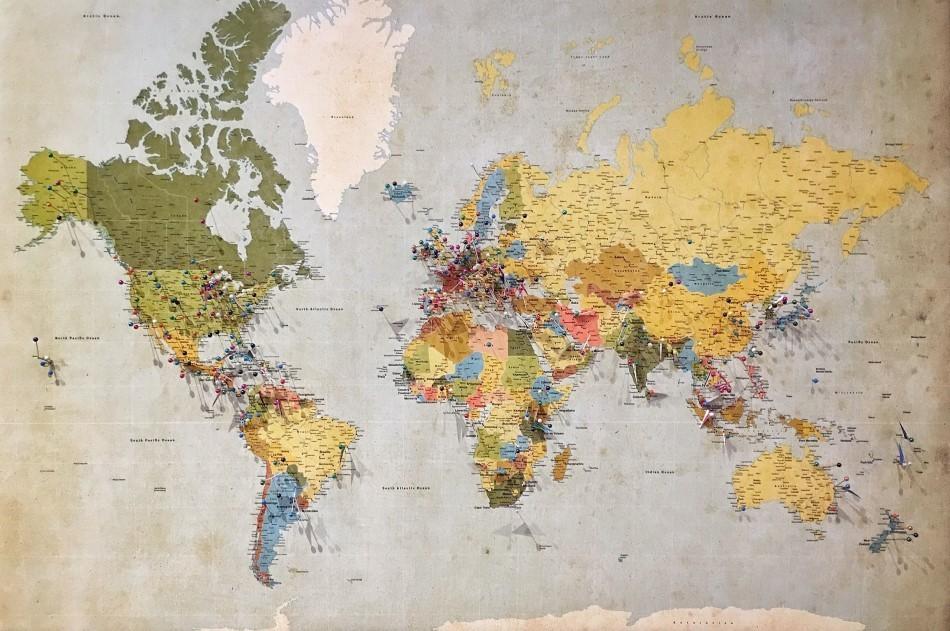 Continentes del mundo: cuántos hay y cómo se formaron